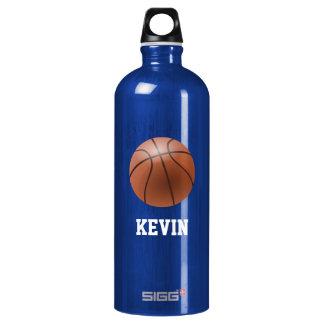 Basketball Custom Aluminum Water Bottle