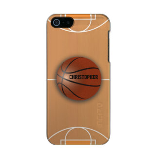 Basketball Custom Incipio Feather iPhone Case Incipio Feather® Shine iPhone 5 Case