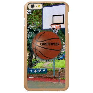 Basketball Custom Incipio Feather iPhone Case Incipio Feather® Shine iPhone 6 Plus Case