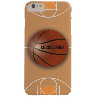 Basketball Custom Phone Case Barely There iPhone 6 Plus Case