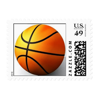 BASKETBALL CUSTOM POSTAGE