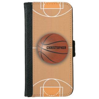 Basketball Custom Wallet Phone Case iPhone 6 Wallet Case