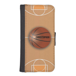 Basketball Custom Wallet Phone Case Phone Wallet Case