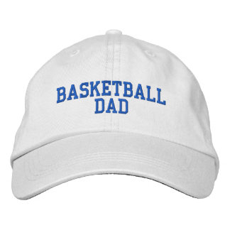 Basketball Dad Adjustable Hat Embroidered Baseball Caps