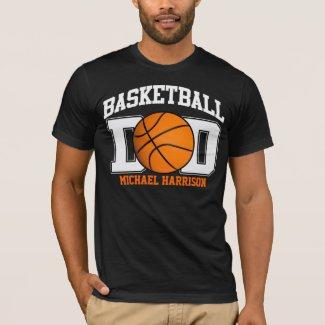 Basketball Dad (dark) T-Shirt