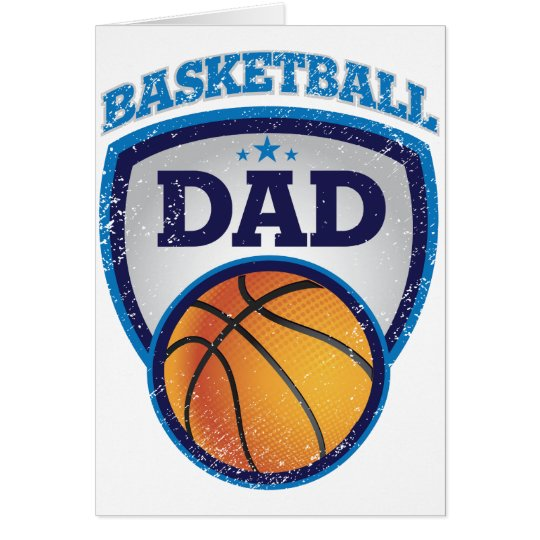 Basketball Dad Design to show off Card