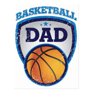 Basketball Dad Design to show off Postcard