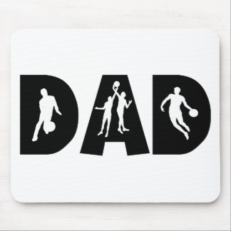 Basketball Dad Father's Day Mousepads