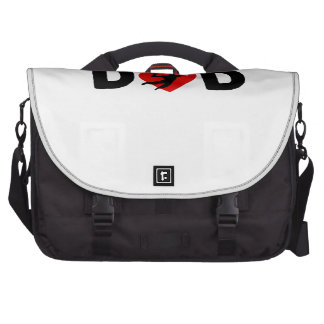 Basketball Dad Laptop Messenger Bag
