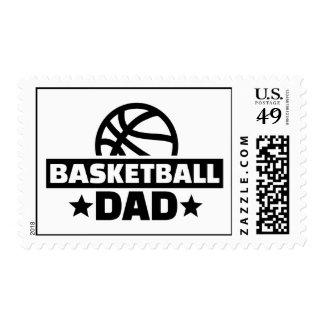 Basketball dad postage