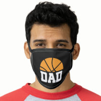 Basketball Dad Sports Gift Face Mask