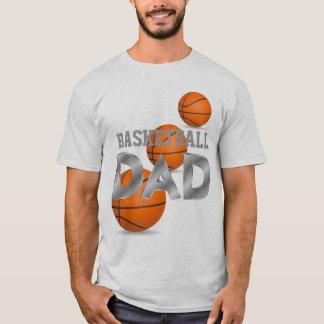 Basketball DAD white t-shirt
