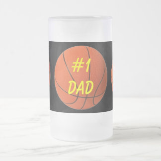 Basketball Dad's Beer Mug