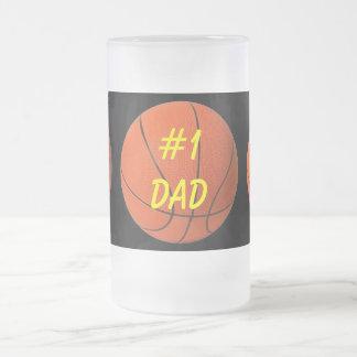 Basketball Dad's Beer Mug