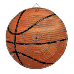 Basketball Dartboard With Darts