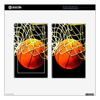 Basketball Decal For Kindle Fire