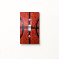 Basketball Decor Theme Light Switch Light Switch Cover