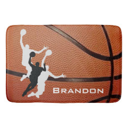 Superbe Basketball Design Bath Mat ...