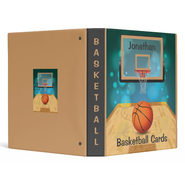 Basketball Design Binder