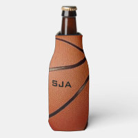 Basketball Design Bottle Cooler