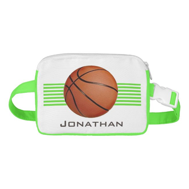 Basketball Design Fanny Pack
