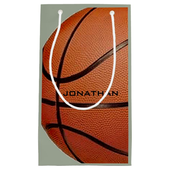 Basketball Design Gift Bag