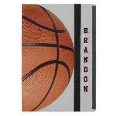 Basketball Design iPad Air Case at Zazzle