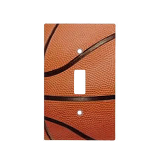Basketball Design Light Switch Cover