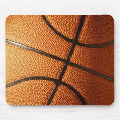 Basketball Design Mouse Pad