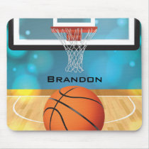 Basketball Design Mousepad