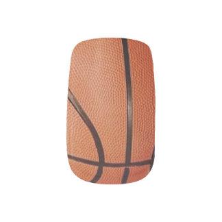 Basketball Design Nails Minx Nail Art