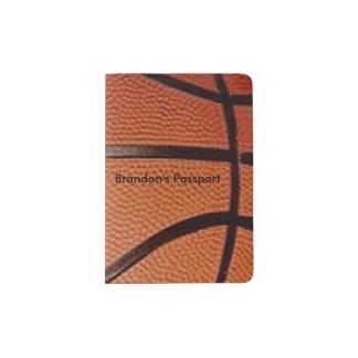 Basketball Design Passport Cover