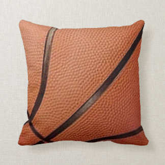 Basketball Design Throw Pillow