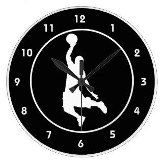 Basketball Design Wall Clock