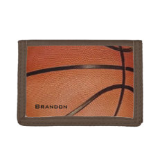 Basketball Design Wallet at Zazzle