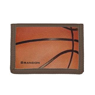 Basketball Design Wallet
