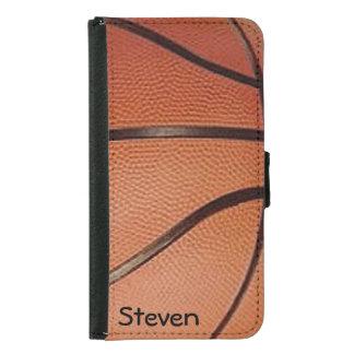 Basketball Design Wallet Case