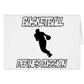 basketball designs card