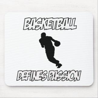 basketball designs mouse pad