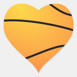 Basketball Destiny Sports Leisure Heart Sticker