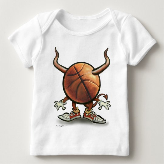 Basketball Devil Baby T-Shirt