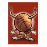 Basketball Devil Post Card
