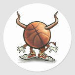 Basketball Devil Stickers
