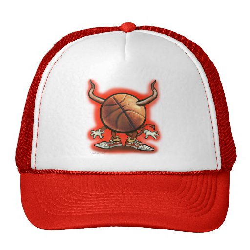 Basketball Devil Trucker Hats