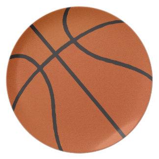 Basketball Dinner Plate