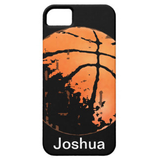 Basketball Distressed Urban iPhone5 Case