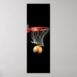 Basketball Door Poster Unique Modern Sport Artwork