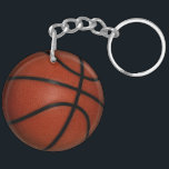 """Basketball Double-sided Round Key chain<br><div class=""""desc"""">Basketball Double-sided Round Key chain</div>"""