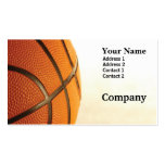 Basketball Double-Sided Standard Business Cards (Pack Of 100)