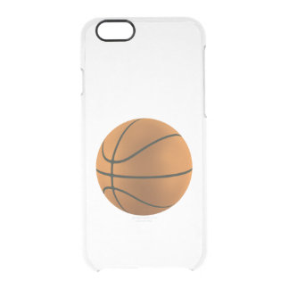 BASKETBALL DREAMING ~ CLEAR iPhone 6/6S CASE